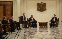 Москва и Дамаск развивают сотрудничество на фоне американского давления