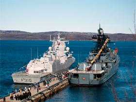 Фото: airbase.ru Российско-норвежские военно-морские учения «Помор-2012»
