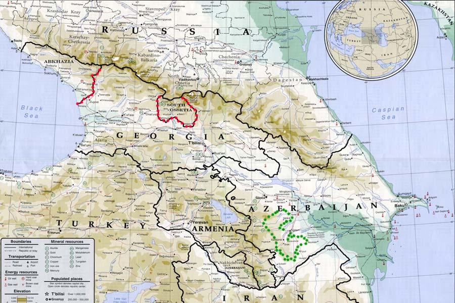 О военно-политической активности на Южном Кавказе и в соседних странах