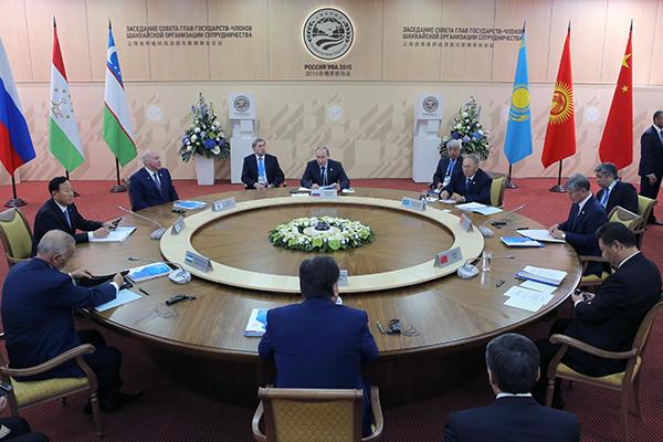Заседание Совета глав государств-членов ШОС. Фото: AP