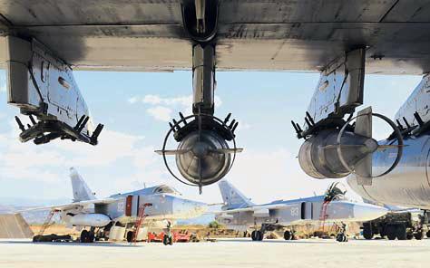 «Воздушное наступление» России против международного терроризма приносит свои плоды | Военно-политическая аналитика