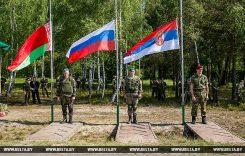 В Белоруссии началась активная фаза учений «Славянское братство — 2017»