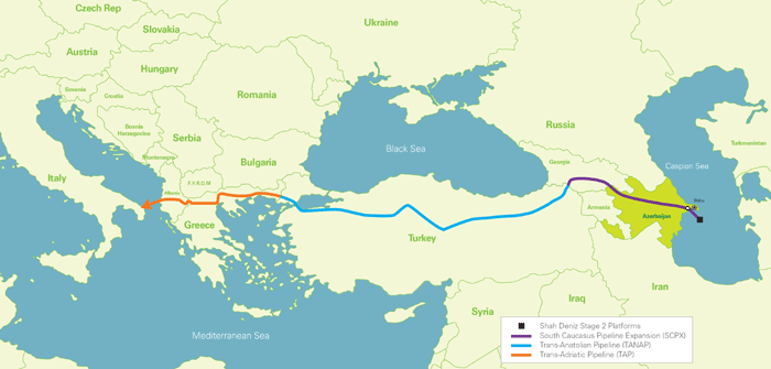 «Южный газовый коридор»: пропагандистская конкуренция с Россией