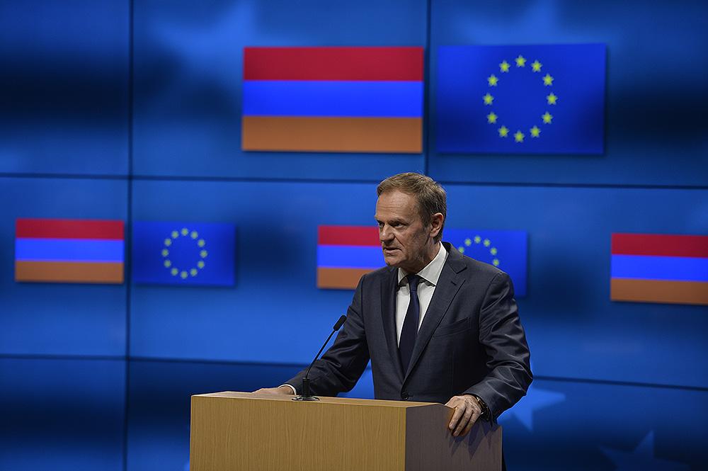 Выступление Председателя Совета ЕС Д. Туска от 27.02.2017 г.